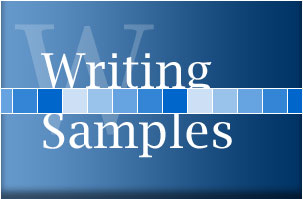 Philip Kassel Productions - Writing Samples